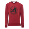 ÖTILLÖ French Terry Peached sweater Heren rood